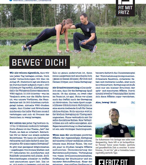 Personal Trainer Rosenheim