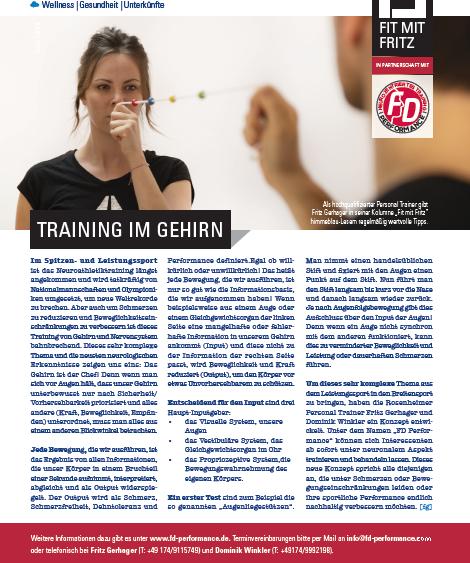 """himmeblau """"Training im Gehirn"""""""