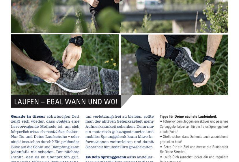 "himmeblau "" Laufen,egal wann und wo """